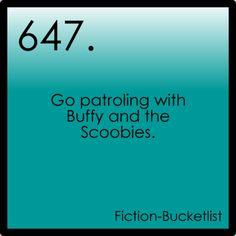 Buffy the Vampire Slayer Fiction Bucketlist Idea Fromvoldies-awkward-hugs