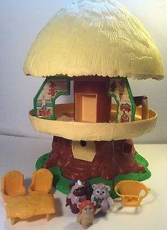 #Vintage 1984 #Kenner #StarWars #Ewok Family #Treehouse Hut Playset #Lucasfilms #eBay #forsale #treasuretrove952