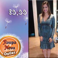 89,99! Só na Roupa Nova Outlet você encontra roupas dessa qualidade com preços tão acessíveis #RoupaNova #PreçoBaixo