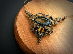 Hey, I found this really awesome Etsy listing at https://www.etsy.com/pt/listing/258068885/macrame-necklace-with-tigers-eye-fairy