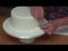 Blossom Flower Ruffle Cake Decorating Tutorial - YouTube