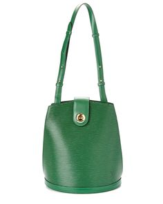 Spotted this Louis Vuitton Vintage Green Epi Leather Cluny on Rue La La. Shop (quickly!).