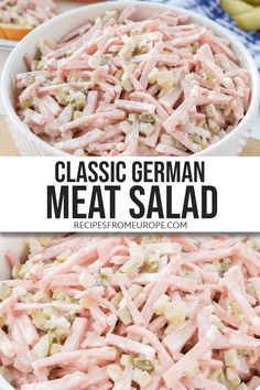 Mix Vegetable Recipe, Vegetable Recipes, Lunch Recipes, Salad Recipes, Easy Recipes, Diet Recipes, Pickled Meat, Daikon Recipe, German Meat