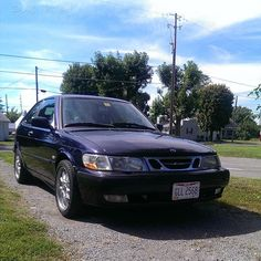 """#mulpix 1999  #SAAB 9-3 Coupe Stage 5 JZW tune, Td04hl-18t turbo, ETA intercooler, Green giant injectors, 3 bar map sensor, Walbro 255 fuel pump, T7 bpc mod, 3"""" intake, Jak Stoll 3"""" downpipe, Saabsport catback, Genuinesaab poly engine and tranny mount, Genuinesaab rear engine race mount, Genuinesaab rear anti roll bar, Genuinesaab poly control arm bushings, Genuinesaab poly tie rod bushings, Dual gauge pod with autometer boost and oil pressure gauges, New Viggen clutch pressure plate…"""