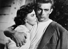"Natalie Wood & James Dean | ""Rebel Without a Cause"" ""I can never ever get enough of watching James Dean, I mean his gestures are so sweet but ragged I love him"" Tanny Onsalo"