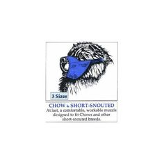 MUZZLE CHOW/SHORT NOSED BLUE - SMALL >>> Click image to review more details. (This is an affiliate link and I receive a commission for the sales) #Doggies