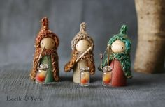 Martinmas Lantern Children by Beetle & Fern