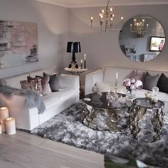 Amazing 28 Home Decor Accessories South Africa Over Decor & Design Suppliers and Service Providers. The comprehensive guide to interior desi… Glam Living Room, Living Room Decor Cozy, Living Room Goals, Living Spaces, Interior Design Colleges, Home Interior Design, Luxury Interior, Casa Clean, Decoration Design