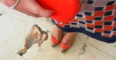 Zapatos DIY con corales para boda en *Con B de Boda* http://conbdeboda.blogspot.com.es/2014/03/diy-zapatos-para-boda.html