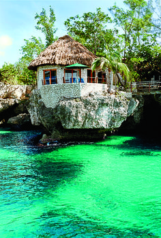 Rockhouse, Jamaica  A stunning cliff-top setting and a happy-hippie vibe lure celebs like Jude Law to this cool customer in Negril. Upgrade from a standard room to a thatched-roof garden villa without breaking the bank—sweet!  Garden villas from $220 (low season) and $270 (high season)