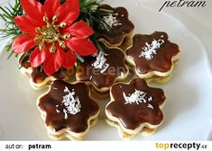 Snack sweets without gluten, milk and eggs Czech Recipes, Milk And Eggs, Christmas Cookies, Waffles, Sweet Tooth, Goodies, Gluten Free, Pudding, Punk