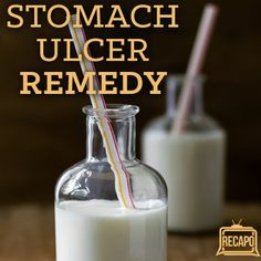 H. Pylori Causes Stomach Ulcers & Kefir Milk Ulcer Remedy
