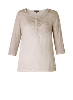 d1b5dfea1951 Beautiful comfortable fit top by Yesta in two fabrics.  plusSizefashion   plusfashion  plussize