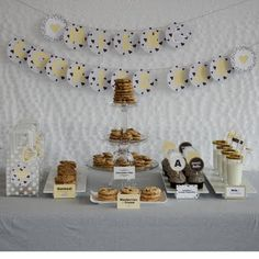 milk and cookies baby shower...cute!