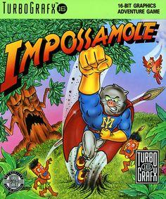 Impossamole (USA) #retrogaming #turbografx Turbografx 16, Pc Engine, Retro Video Games, Box Art, Adventure, Usa, Toys, Adventure Game, U.s. States