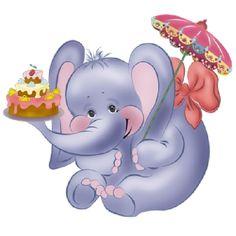 Cute Elephant Clip Art | Cute Cartoon Elephant Clip Art