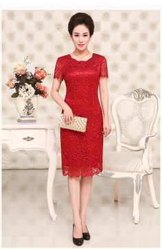 Mother dress lace dress summer,Weddings&Events
