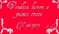 Vendita lavori a punto croce ci sponsorizza un bellissimo cuscino porta fedi fatto appunto a punto croce.  La sua pagina facebook: http://www.facebook.com/pages/Vendita-lavori-a-punto-croce/296506878414