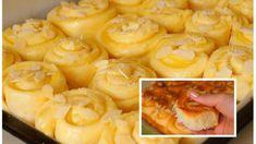 Bombastické Salko slimáky ako z bavlnky: S cestom sa krásne pracuje – toto je najjemnejšie domáce pečivo! Shrimp, Diet, Recipes, Food, Hampers, Essen, Meals, Ripped Recipes, Eten