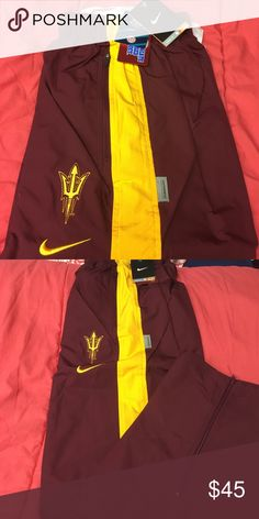 Nike ASU Sun Devil Windbreaker Sweats NWT! Windbreaker Sweats/Track Pants!! Nike Pants Sweatpants & Joggers