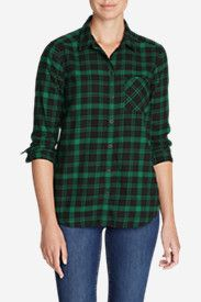 Women's Stine's Favorite Flannel Shirt - One-Pocket Boyfriend    Size: Medium
