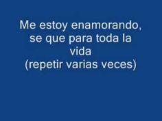 ▶ Pedro Suárez Vértiz Me Estoy Enamorando Con Letra)!! - YouTube ( Peru )