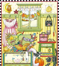 Miss Missy Paper Dolls: Mary Engelbreit Mary Engelbreit, Paper Doll House, Paper Dolls, Whimsical Art, Coloring Books, Adult Coloring, Colouring, Folk Art, Cute Pictures