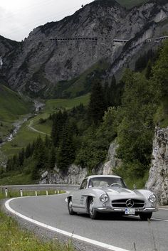 Mercedes-Benz 300SL, Alberg Rennen Austria
