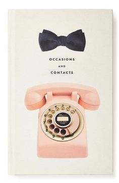 $25 kate spade new york 'occasions and contacts' journal available at #Nordstrom