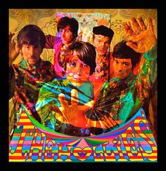 The Hollies - Psychedelic Album Covers, Visionary and Fantasy Art by Marijke Koger Rock Album Covers, Music Album Covers, Music Albums, Psychedelic Experience, Psychedelic Art, Psychedelic Fashion, Lp Cover, Cover Art, Holly King