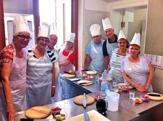Cooking Class time for our Friends from Canada!