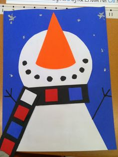 Let it Snow! -patterning for the scarf with different colours?