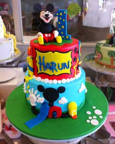 Mickey Mouse birthday cake! Cake # 006.
