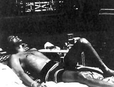 Rare ELVIS Photographs - by the pool at Graceland