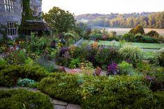 Gravetye garden in the winter