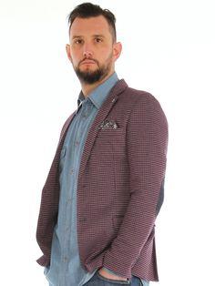 Geometric patterned cotton blend jersey slim jacket http://www.luanaromizi.com/en/jackets-blazers-man/geometric-patterned-cotton-blend-jersey-slim-jacket.html #Geometricpatterned #cottonblend jersey #slimjacket #fashion #style #madeinitaly #altatensione #fbuomo #clothing #abbigliamento