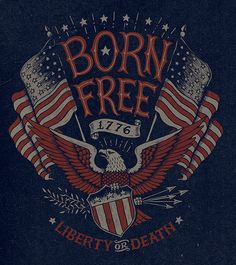 Vintage Americana graphics on Behance by Michael Hinkle