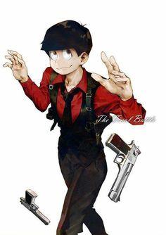 Osomatsu Laughing And Crying, Ichimatsu, Hot Anime Guys, Hot Boys, Mafia, Otaku, My Hero Academia, Tumblr, Cosplay