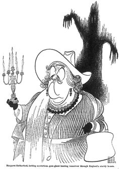 Miss Marple (Margaret Rutherford) Art by Al Hirschfeld Black And White Drawing, Black And White Portraits, Margaret Rutherford, Miss Marple, Celebrity Caricatures, Art Deco Posters, Best Portraits, I Love Books, Line Art