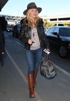 Hayden Panettiere - LAX - January 2013