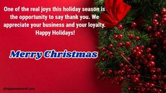 Merry Christmas Wishes Messages for Employees: Christmas obviously is celebrated in the honor of Jesus Christ and he always gave the message of equality and love so this Merry Christmas 2020 make sure to treat your employees well and send them the Christmas Messages for Employees. #Happychristmas #MerrychristmasImages #Merrychristmasgreetings #MerryChristmasquotes #Merrychristmaswallpaper #Happychristmasgif #Merrychristmaswishes #Christmascards #Christmasgifs #Christmasquotes Merry Christmas Wishes Messages, Merry Christmas Quotes, Merry Christmas Greetings, Merry Christmas And Happy New Year, Happy Holidays, Christmas Cards, Merry Christmas Wallpaper, Christmas Wreaths, Christmas Decorations
