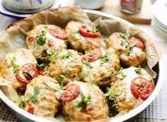 Gevulde aardappels met kip