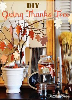 Fall Buffet and Our Giving Thanks Tree