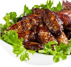 Chicken wings are seasoned with True Orange and ginger, marinated in a sweet teriyaki sauce, then grilled to perfection!