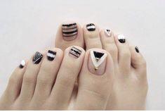 Toe Nail Art, Toe Nails, Cute Pedicures, Eye Make Up, Beauty Nails, Nail Designs, Girly, Makeup, How To Make