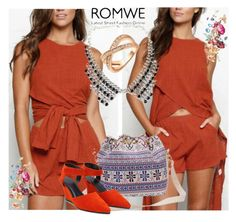 """""""10#Romwe"""" by fatimka-becirovic ❤ liked on Polyvore"""