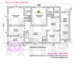 Free 6 Bedroom Modern House Plans Larissa Runkle, provided byBest Space Modern 6 Bedroom House Design - ID 26603 - Floor Plans by Low Cost House Plans, Round House Plans, Small House Plans, Duplex Floor Plans, Modern House Floor Plans, Home Design Floor Plans, House Plans With Pictures, Indian House Plans, Model House Plan