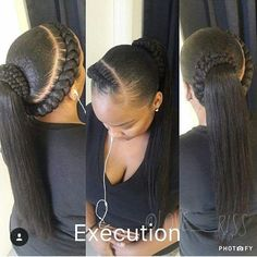 """@love__riss I saw this and thought: """"Wow so elegant and feminine!"""" Great style. #fauxlocs #locs #braids #twists #cornrows #boxbraidscolors #purplehair #purplehairdontcare #redhair #greyhair #sunglasses #curls #dreads #blackisbeautiful #afrohair #ropes #turquoisehair #love #iversons #headwrap #beautiful #swag #bestoftheday #goddessfauxlocs #Protectivestyles #weave #crotchet #sewin"""