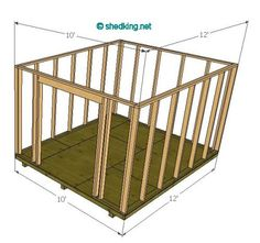 gambrel shed 10' wide