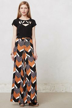 Maxi Pants - this pair from Anthropologie is one of my favorites. They look great with both pumps/wedges for a dressier look and sandals for a more casual day-time look